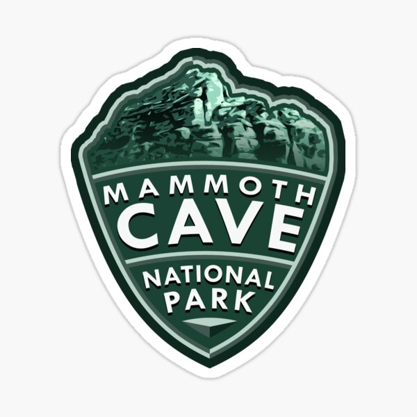 Mammoth Cave National Park Simple Sticker