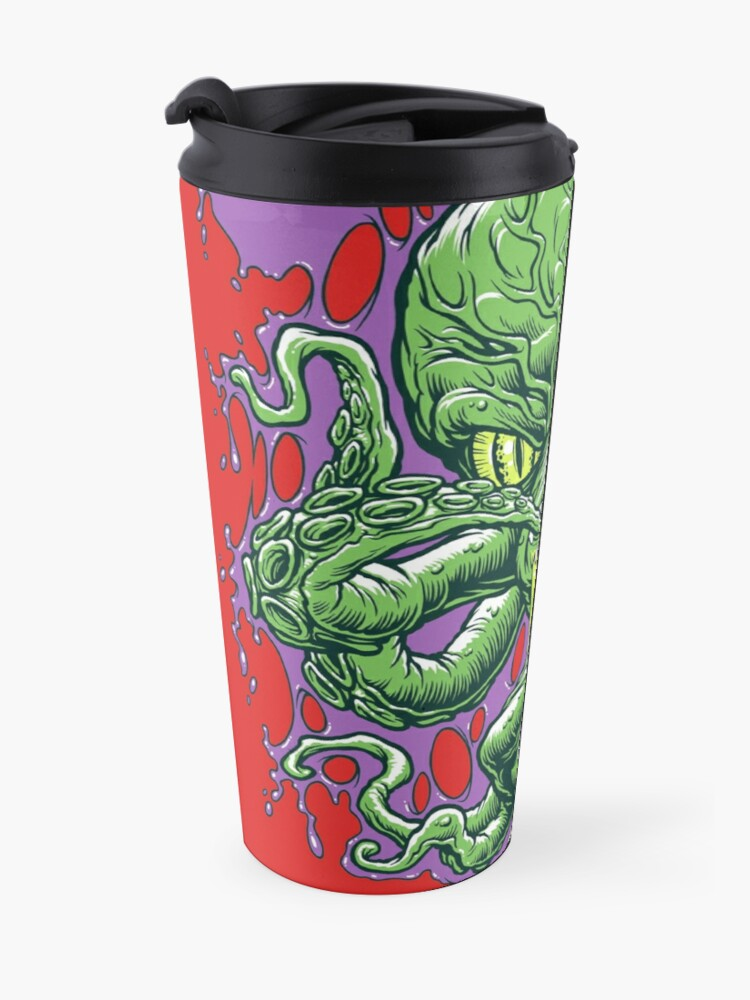 Alternate view of OCTAMAN! Travel Mug