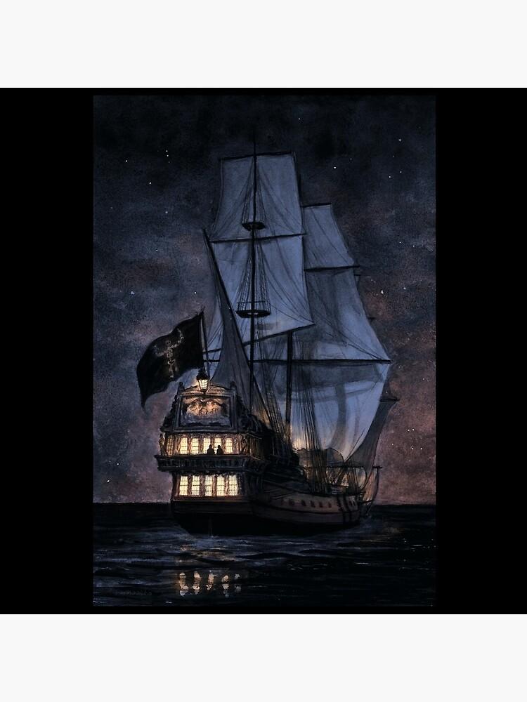 The Walrus at Night by riisinaakka