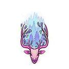 «Oak Deer Purple Pallate» de Johanna-Draws