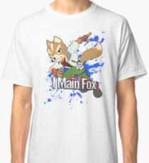 I Main Fox - Super Smash Bros. Classic T-Shirt