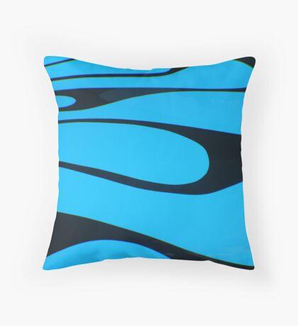 Street Rod Art: The Splash Throw Pillow