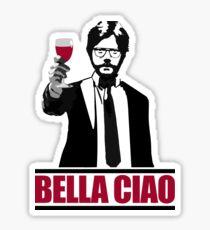Bella Ciao - Wine Sticker