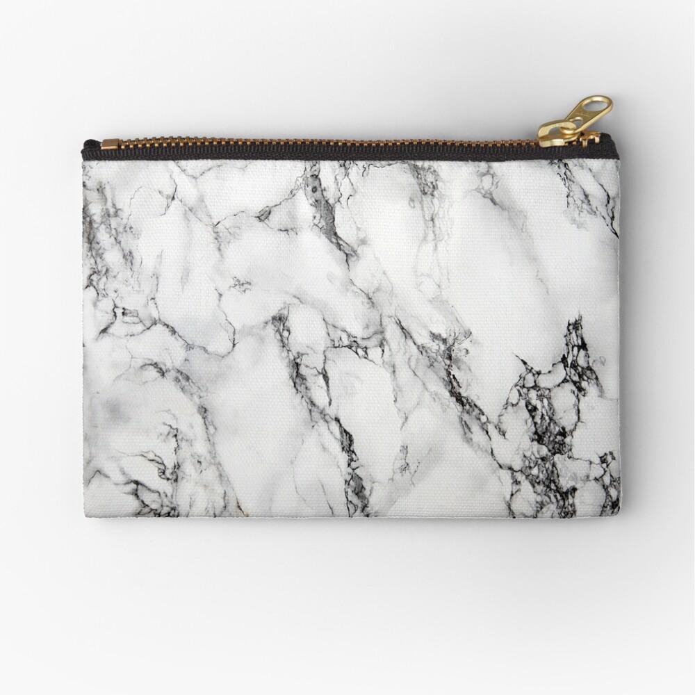 Marble Zipper Pouch