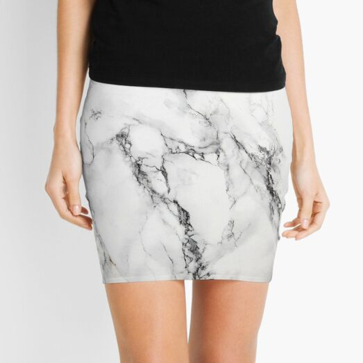 Marble Mini Skirt