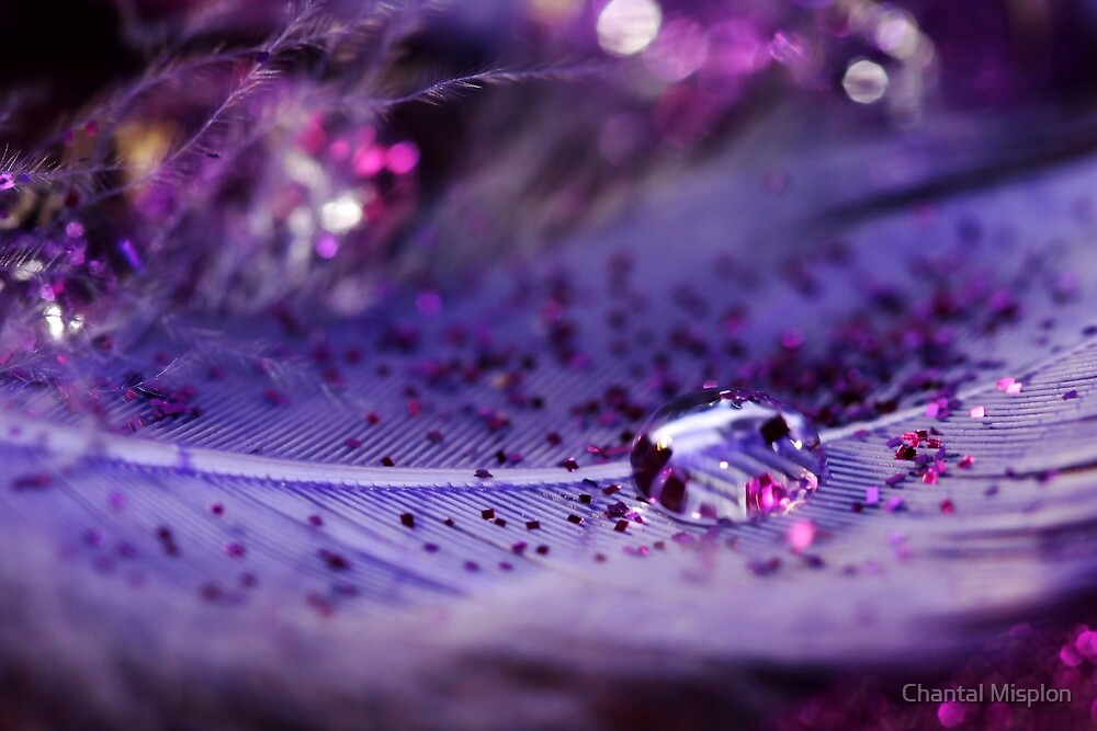 Feather Drop by Chantal Misplon
