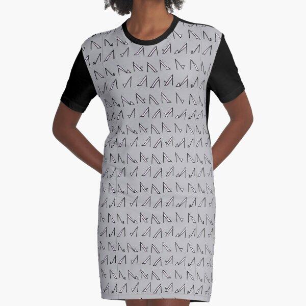 high heels Graphic T-Shirt Dress