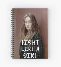 Alycia Debnam-Carey Spiral Notebook