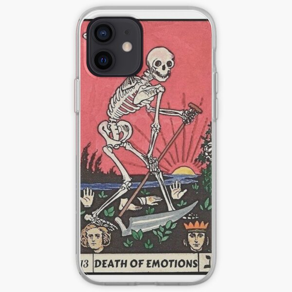Tarot Card - Death Of Emotions iPhone Soft Case