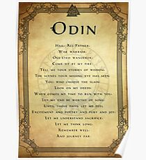 Prayer to Odin Poster
