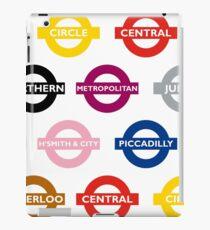 London Underground Signs Design iPad Case/Skin