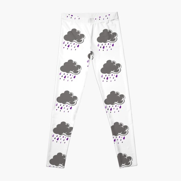 Literal Purple Rain Cloud Leggings