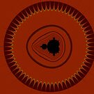 Earthy Mandelbrot by Rupert Russell