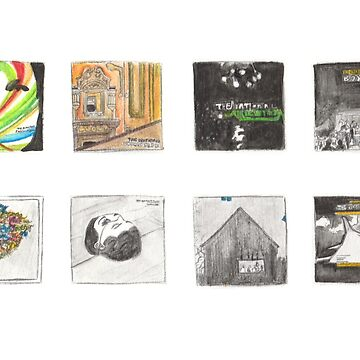 The National - Watercolour Discography by KrisKarlson
