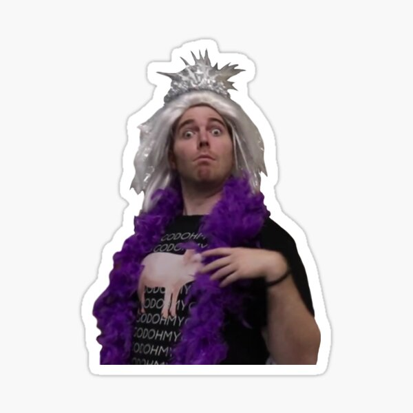 shane dawson Sticker
