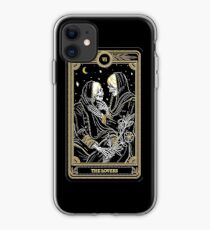 The Lovers Tarot Card iPhone Case