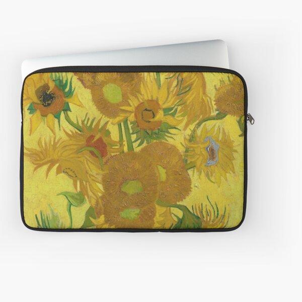 Vincent Van Gogh Sunflowers Laptop Sleeve
