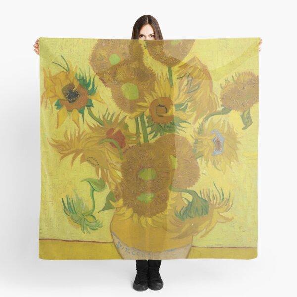 Vincent Van Gogh Sunflowers Scarf