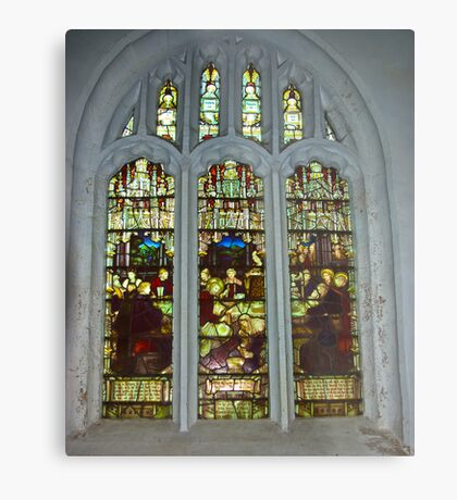 Window #4 St Peter's Church Metal Print