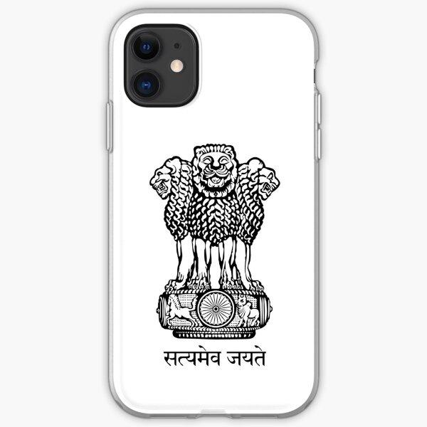 State Emblem of India iPhone Soft Case