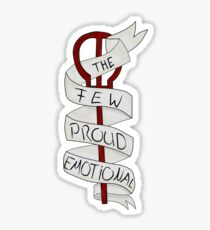 FPE - Few Proud Emotional: Twenty one Pilots Sticker