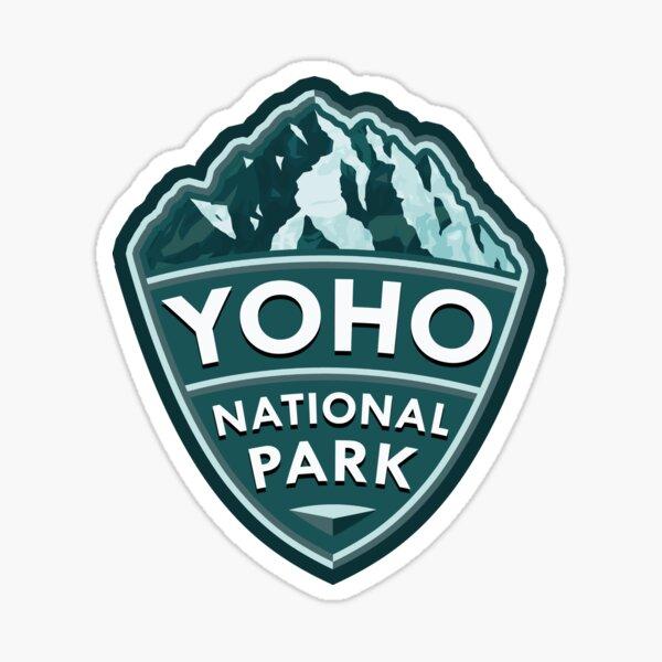 Yoho National Park Simple Sticker