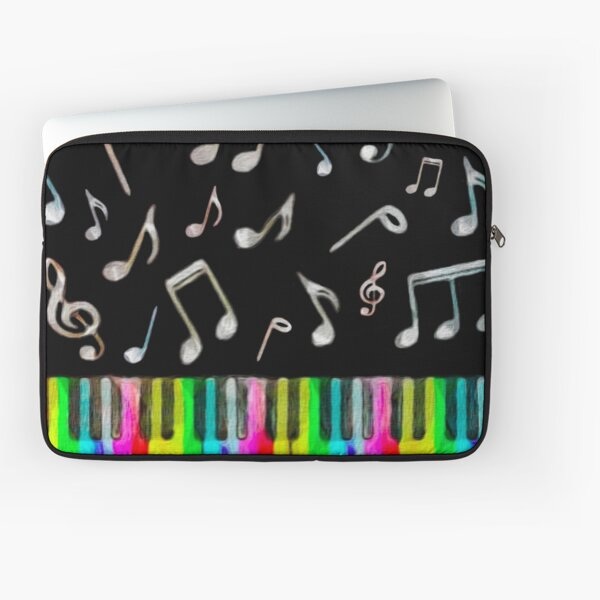 Colorful Music Laptop Sleeve