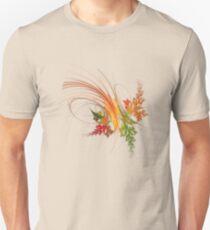 the autumn leaf Unisex T-Shirt