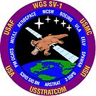 Wideband Global SATCOM system WGS-1 Logo by MGR Productions
