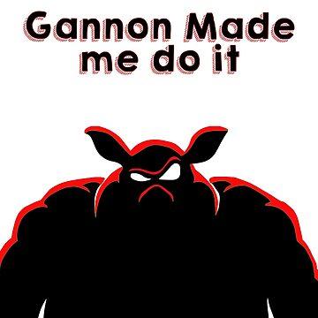 Gannon made me by TeeJB