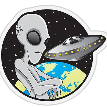 Alien UFO by JbandFKllc