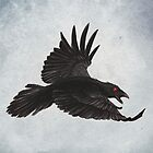 Crow by Puddingshades