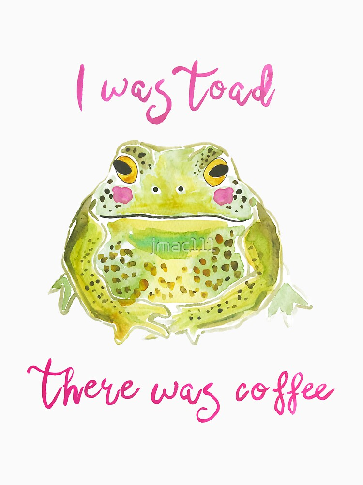 Funny Toad Coffee Art by jmac111