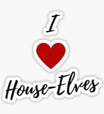 I love house-elves... Sticker