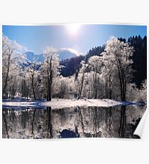 Reflections of Winter, Austria Poster