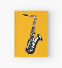 Cuaderno de tapa dura saxófono