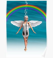 Angel under the Rainbow  Poster