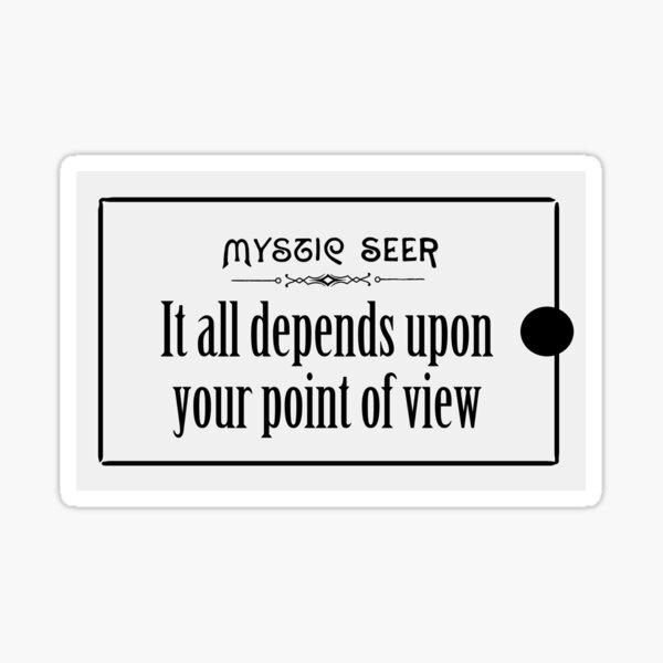 Mystic Seer Fortune 15 Sticker