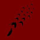 Birds flight by Anteia