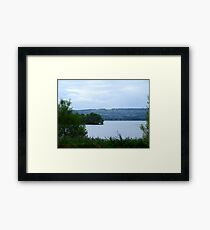 Denny Island Framed Print