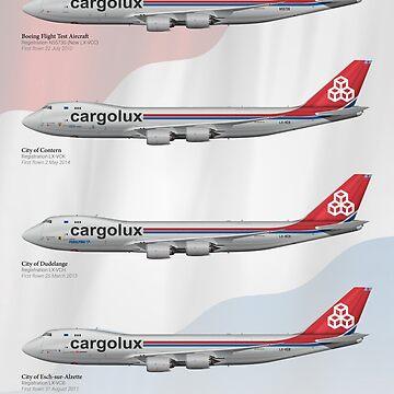 Boeing 747-8R7F - Cargolux by nothinguntried