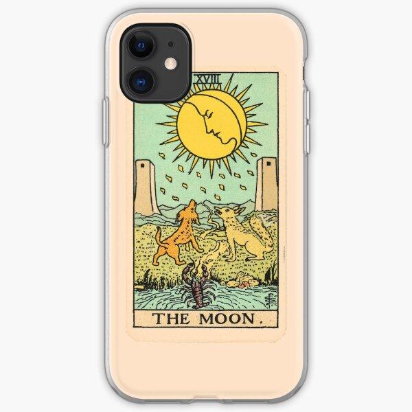 Tarot Card - The Moon iPhone Soft Case