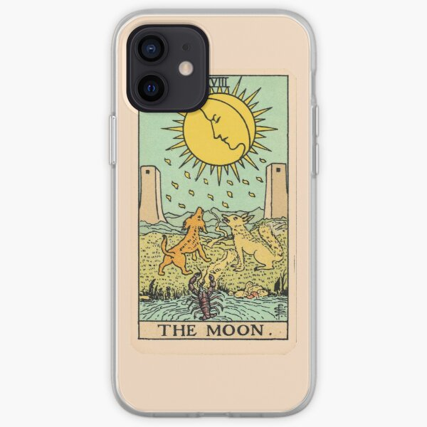 Tarot Card - The Moon iPhone Soft Case