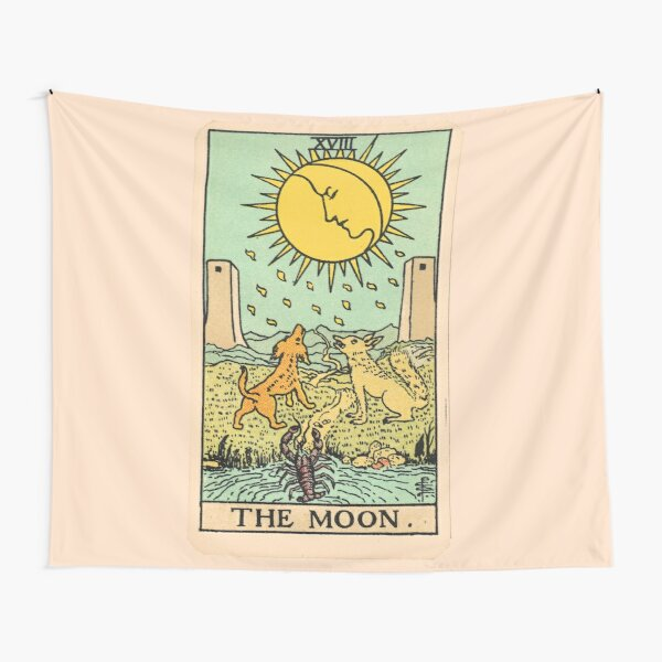 Tarot Card - The Moon Tapestry