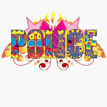 The Police t-shirt by valizi