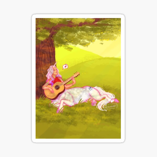 Just a Unicorn Centaur Girl... Sticker