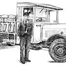 BR Lorry 1950s by Woodie