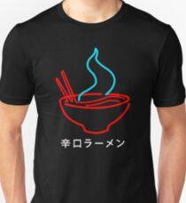 Spicy Ramen Noodles Neon Unisex T-Shirt