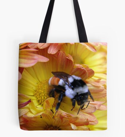 Color Coordinated Bumble Tote Bag