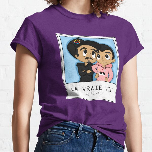 Bigflo et Oli LA VRAIE VIE T-shirt classique
